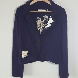 Anthropologie Charlie & Robin Sweater Jacket